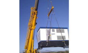 Stacje transformatorowe ZPUE S.A. w Grecji
