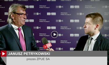 Janusz Petrykowski – prezes zarządu ZPUE S.A. w rozmowie z portalem wnp.pl o współpracy i dialogu z inwestorami