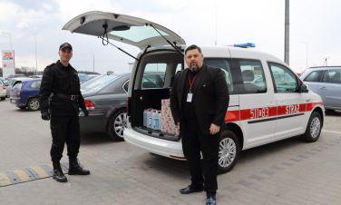 ZPUE S.A. przekazuje środki ochronne dla włoszczowskich Strażaków