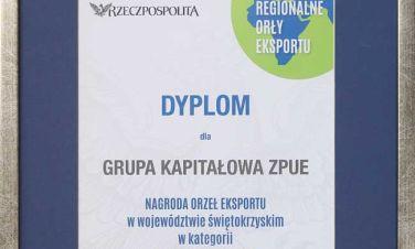 Orzeł Eksportu dla Grupy Kapitałowej ZPUE